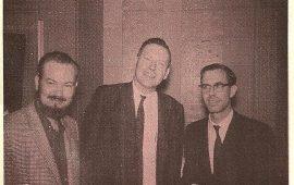 La reunión: Monteleone, Keel, Derenberger y Salkin.